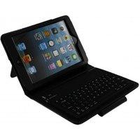 Xccess Lederen Case met Bluetooth Keyboard voor Apple iPad Mini-Mini 2 Retina Black