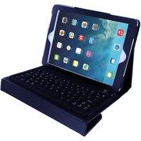 Xccess Lederen Case met Bluetooth Keyboard voor Apple iPad Air-Air 2 Black