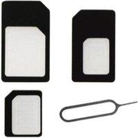 BeHello BeHello SIMcard Adapters (SIM-Micro SIM-Nano SIM) (BEHGAD00018)