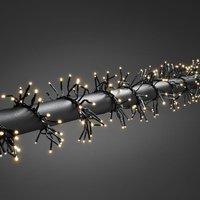 Clusterlichtketting Buiten werkt op het lichtnet LED Warm-wit Konstsmide 3865-100