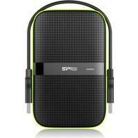 Silicon Power Armor A60 5000GB Zwart, Groen externeharde schijf