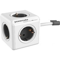 Allocacoc allocacoc PowerCube Extended incl. 1,5 m kabel grijs Type F (1306GY-DEEXPC)