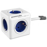 Allocacoc allocacoc PowerCube Extended incl. 1,5 m kabel blauw Type F (1306BL-DEEXPC)