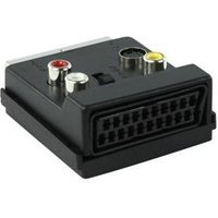 Schakelbare SCART AV-adapter SCART mannelijk SCART vrouwelijk + 3x RCA vrouwelijk + S-Video vrouweli