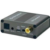 Oehlbach DA-omvormer Audio Converter [1x Toslink-bus (ODT), Cinch-koppeling => 2x Cinch-koppeling]