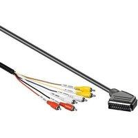 Scart naar Composiet kabel 1.5 meter