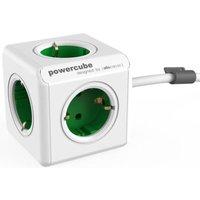 Allocacoc PowerCube Extended Groen 1.5 meter