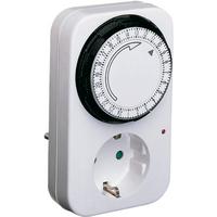 Tijdklok schakelklok stopcontact uitvoering 24 uur 875715