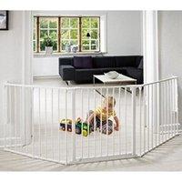 Barrière de sécurité bébé BABY DAN Barrière de sécurité Flex L Blanche (90 à 223 cm)