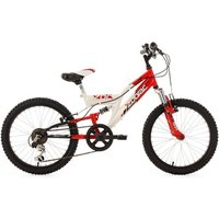 Vélos enfant KS Cycling VTT enfant tout suspendu 20'' Zodiac rouge TC 31 cm KS Cycling