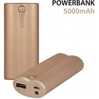 Batterie GPS adaptable  COQUEDISCOUNT PowerBank 5000 mah gold