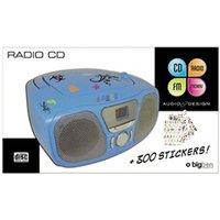 Interface Audio BIG BEN INTERACTIVE BIGBEN CD46BLSTICK LECTEUR CD PORTABLE + 300 STICKERS