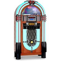 Chaine HiFi Auna Graceland-xxl jukebox usb sd aux cd fm/am