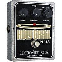 Pédale d'effets Electro-harmonix Electro Harmonix Holy Grail plus Pédale pour Guitare Electrique Argenté