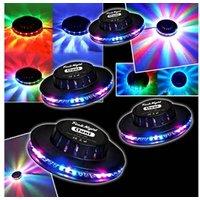 Jeux de lumière autonome Festinight Jeu de lumière Pack Light 4 Effets OVNI LED RVB FestiNight