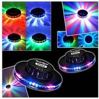 Jeux de lumière autonome Festinight Jeu de lumière Pack Light 2 Effets OVNI LED RVB FestiNight