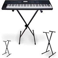 Accessoire Claviers et Pianos Njs NJS - Supports robustes pour claviers, pianos, synthétiseurs 5 Positions x2