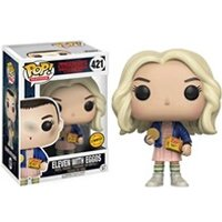 Figurines personnages Third Party Figurine stranger things - eleven with eggos chase pop 10cm