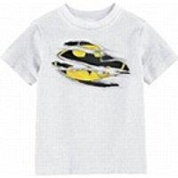 Figurines personnages Lengend Distribution T- shirt batman - batman torn logo enfant blanc taille 10 ans
