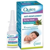 Aide au sommeil Quies Spray nasal anti-ronflement quies