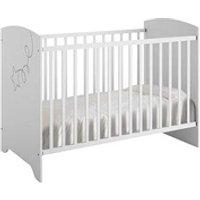 Chambre complète Maisonetstyles Lit bébé 60x120cm blanc - arthur