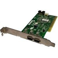 Carte réseau Adaptec Carte pci 2x ports firewire adaptec afw-2100 ieee1394 0f4582 assy 2086506-02