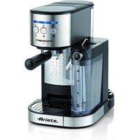 Combiné expresso cafetière Ariete Ariete 1384 machine à café expresso cremissima, 1470 w, inox