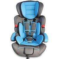 Siège Auto Groupe 1 - 2 - 3 Todeco Siège auto pour bébé et enfant, siège auto rehausseur, de 9 à 36 kg, bleu, standards/certifications:  ece r44 / 04