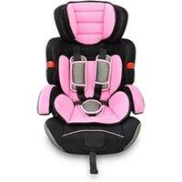 Siège Auto Groupe 1 - 2 - 3 Todeco Siège auto pour bébé et enfant, siège auto rehausseur, de 9 à 36 kg, rose, standards/certifications:  ece r44 / 04