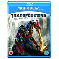 Blu-Ray PARAMOUNT HOME ENTERTAINMENT Transformers dark of the moon triple play blu-ray, dvd and digital copy