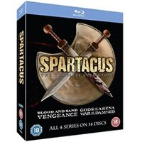 Blu-Ray Anchor Bay Entertainment Spartacus 1-4 the complete collection blu-ray