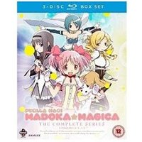 Blu-Ray Manga Entertainment Puella magi madoka magica complete series collection blu-ray