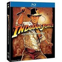 Blu-Ray PARAMOUNT HOME ENTERTAINMENT Indiana jones quadrilogy the complete adventures blu-ray