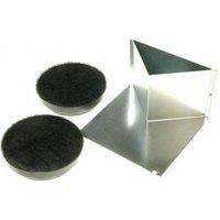 Quincaillerie hotte Bosch B/s/h Kit de démarrage mode recyclage pour hotte bosch