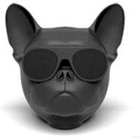 Enceinte sans fil Favorever Mini haut-parleur bluetooth design bulldog (bleu)