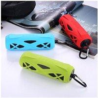Enceinte sans fil Favorever Mini haut-parleur bluetooth waterproof pour sport et outdoor (rouge)