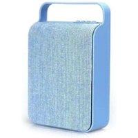 Enceinte sans fil Favorever Mini haut-parleur bluetooth design sac en toile rétro (vert)