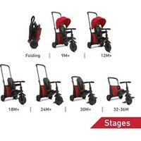 Vélos enfant Smartrike Smartrike 5000000 smartfold 400 trike 7 en 1 pliable - couleur rouge