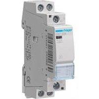 Accessoire sécurité connectée Hager Contacteur silencieux 25A - 2F - 230V - ESC225 - Hager