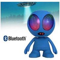 Enceinte sans fil 500 Enceinte nomade bleu bluetooth extra-terrestre à leds lumineuse - wiki ltc audio