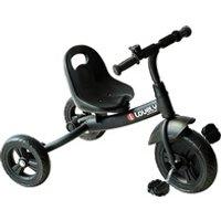 Vélos enfant HOMCOM Tricycle enfants multi-équipé garde-boue sonnette pédales antidérapantes siège réglable 2 positions avec dossier