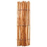 Clôture GENERIQUE Icaverne - panneaux de clôture sublime clôture à piquets bois de noisetier 120 x 250 cm