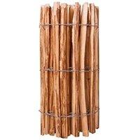Clôture GENERIQUE Icaverne - panneaux de clôture inedit clôture à piquets bois de noisetier 90 x 500 cm