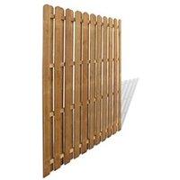 Clôture GENERIQUE Icaverne - panneaux de clôture admirable panneau de clôture bois de pin 180x180 cm