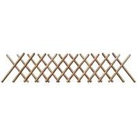 Clôture GENERIQUE Icaverne - panneaux de clôture distingué clôture à treillis 250 x 60 cm bois imprégné
