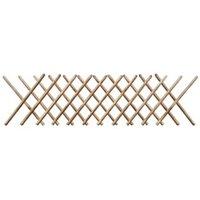 Clôture GENERIQUE Icaverne - panneaux de clôture stylé clôture à treillis bois imprégné 250 x 80 cm
