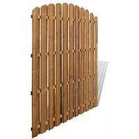 Clôture GENERIQUE Icaverne - panneaux de clôture magnifique panneau de clôture pinède 180x(165-180) cm