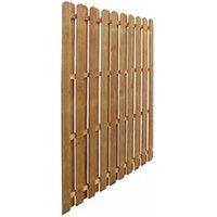 Clôture GENERIQUE Icaverne - panneaux de clôture sublime panneau de clôture pinède imprégnée 170 x 170 cm