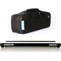 Accessoire guitare et basse Pedaltrain Pedaltrain nano+ pedalboard avec soft case