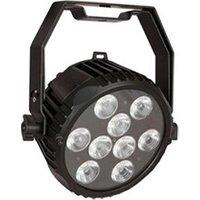 Jeux de lumière DMX Showtec Showtec power spot 9 q6 tour projecteur led 6-en-1 rgbwauv